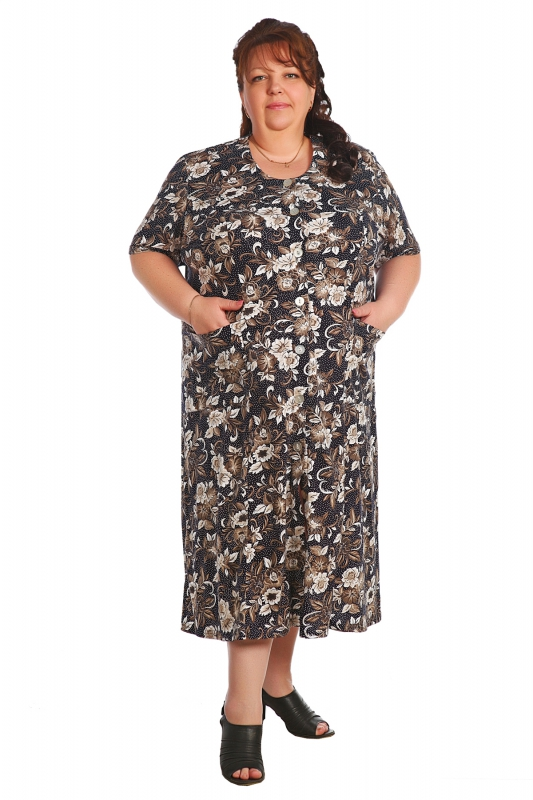 Халат женский ЮфимаЛегкие халаты<br>Размер: 68<br><br>Высота: 9<br>Размер RU: 68