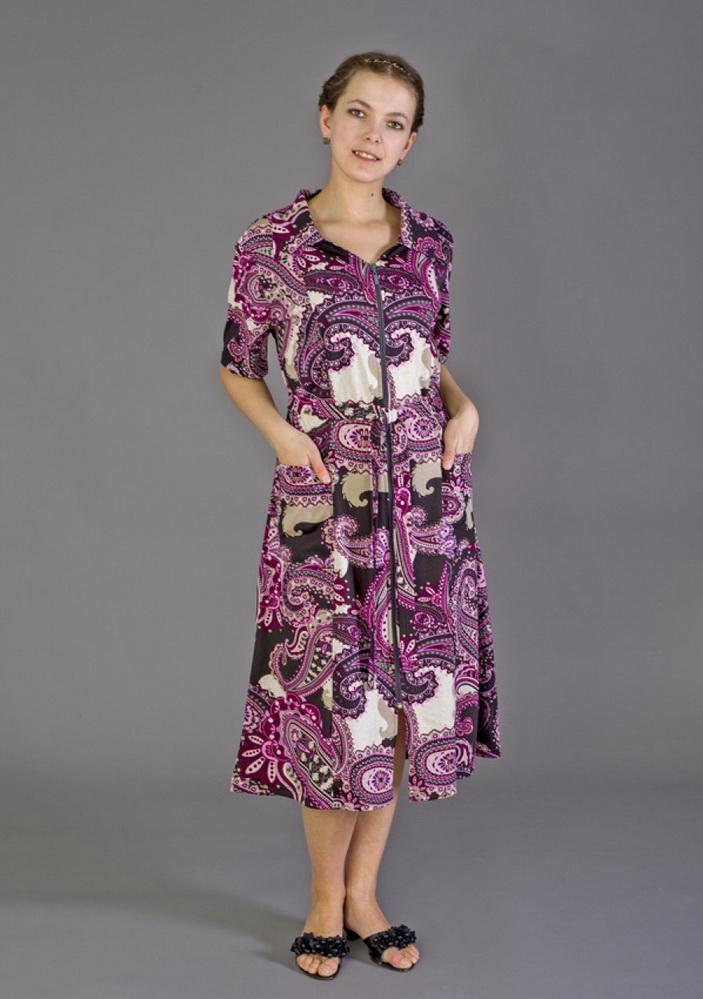 Халат женский ФаяЛегкие халаты<br>Размер: 54<br><br>Принадлежность: Женская одежда<br>Основной материал: Кулирка<br>Вид товара: Одежда<br>Материал: Кулирка<br>Состав: 100% хлопок<br>Длина рукава: Средний<br>Длина: 19<br>Ширина: 17<br>Высота: 9<br>Размер RU: 54