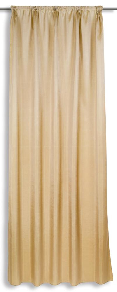 Штора для гостиной Астра (тафта) 140х270Для гостиной<br>Штора - один из тех предметов декора, без которых просто не может обойтись ни один интерьер, особенно интерьер гостиной.   И ели вы желаете подобрать под интерьер своей гостиной изящную штору из легкой ткани, то считайте, что вы уже нашли такую - это штора из тафты Астра. Данная модель имеет однотонный бежевый цвет и лишена всякого рода украшений, и эта особенность только добавляет ей элегантности.   Штора для гостиной Астра имеет стандартный размер 140х270 см, и она легко крепится к гардине с помощью шторной ленты. При необходимости вы также легко можете снять штору, чтобы постирать ее.<br>Цена указана за одну штору.<br> Размеры: длина 270 см, ширина 140 см. Размер: 140х270<br><br>Высота: 3<br>Размер RU: 140х270