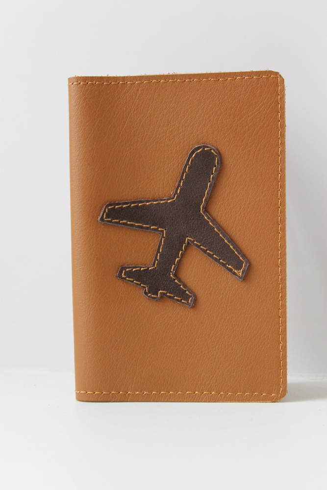 """Обложка на паспорт """"Самолет"""""""