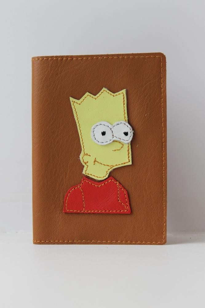 "Обложка на паспорт ""Симпсон"""