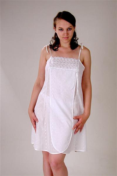 Сорочка женская запашная ТатьянаСорочки и ночные рубашки<br>Размер: 42<br><br>Высота: 7<br>Размер RU: 42