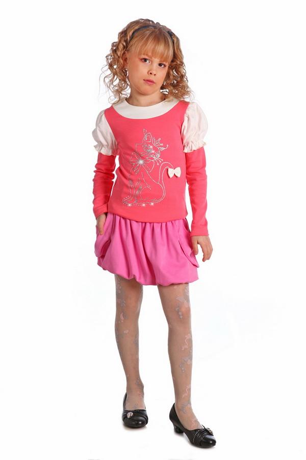 Блузка детская Лэрри (длинный рукав)Блузки<br>Размер: 30<br><br>Принадлежность: Детская одежда<br>Возраст: Подростковый возраст (11-17 лет)<br>Пол: Девочка<br>Основной материал: Интерлок<br>Вид товара: Детская одежда<br>Материал: Интерлок<br>Длина: 18<br>Ширина: 12<br>Высота: 2<br>Размер RU: 30