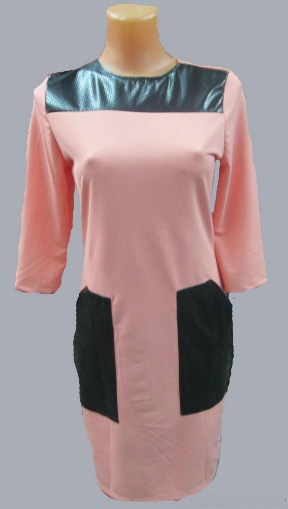 Платье женское СабринаПлатья<br>Размер: 44<br><br>Принадлежность: Женская одежда<br>Основной материал: Трикотаж<br>Страна - производитель ткани: Россия, г. Иваново<br>Вид товара: Одежда<br>Материал: Трикотаж<br>Длина рукава: Средний<br>Длина: 19<br>Ширина: 15<br>Высота: 4<br>Размер RU: 44