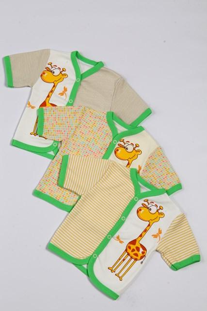 Кофточка детская СафариРаспашонки и кофточки<br>Определиться с расцветкой Вы можете здесь Размер: 22<br><br>Принадлежность: Детская одежда<br>Возраст: Младенец (0-12 месяцев)<br>Пол: Унисекс<br>Основной материал: Интерлок<br>Страна - производитель ткани: Россия, г. Иваново<br>Вид товара: Детская одежда<br>Материал: Интерлок<br>Состав: 100% хлопок<br>Длина: 18<br>Ширина: 12<br>Высота: 2<br>Размер RU: 22