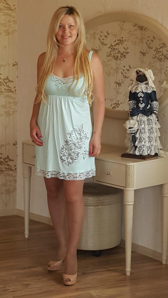 Ночная сорочка АланаСорочки и ночные рубашки<br>Размер: 46<br><br>Высота: 7<br>Размер RU: 46