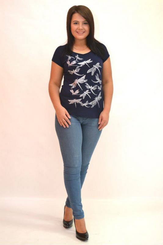 Блузка женская ТоронтоБлузки<br>Размер: 50<br><br>Высота: 7<br>Размер RU: 50