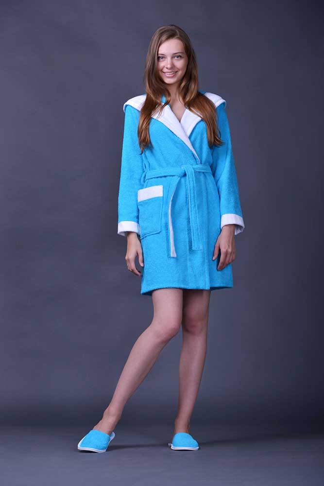 Халат женский махровый ЖасминТеплые халаты<br>Размер: 44<br><br>Принадлежность: Женская одежда<br>Основной материал: Махра<br>Страна - производитель ткани: Турция<br>Вид товара: Одежда<br>Материал: Махра<br>Тип застежки: Без застежки<br>Плотность: 320 г/кв. м.<br>Состав: 100% хлопок<br>Длина рукава: Длинный<br>Длина: 30<br>Ширина: 20<br>Высота: 11<br>Размер RU: 44