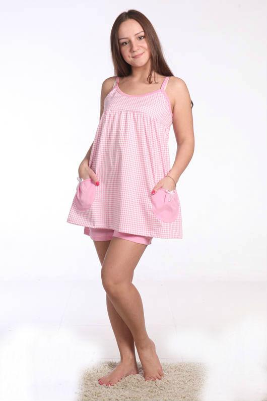 Пижама женская АнахаймПижамы<br>Думаете, что нежно-розовый цвет создан исключительно для маленьких девочек, а вас он может заставить выглядеть слегка нелепо? Что ж, в таком случае вы ошибаетесь, но легко и очень быстро переубедить вас сможет женская пижама Анахайм!   Эта милая модель подойдет представительнице прекрасного пола любого возраста - от двадцати до сорока лет. Она состоит из майки-разлетайки и коротеньких шортиков на резинке. Сшита же женская пижама Анахайм из легкой воздухопроницаемой кулирки.   Данная модель заставит вас раз и навсегда поверить в то, что для того, чтобы выглядеть мило и изящно, не нужно иметь определенный возраст! Размер: 46<br><br>Принадлежность: Женская одежда<br>Основной материал: Кулирка<br>Страна - производитель ткани: Россия, г. Иваново<br>Вид товара: Одежда<br>Материал: Кулирка<br>Состав: 100% хлопок<br>Длина: 18<br>Ширина: 12<br>Высота: 7<br>Размер RU: 46