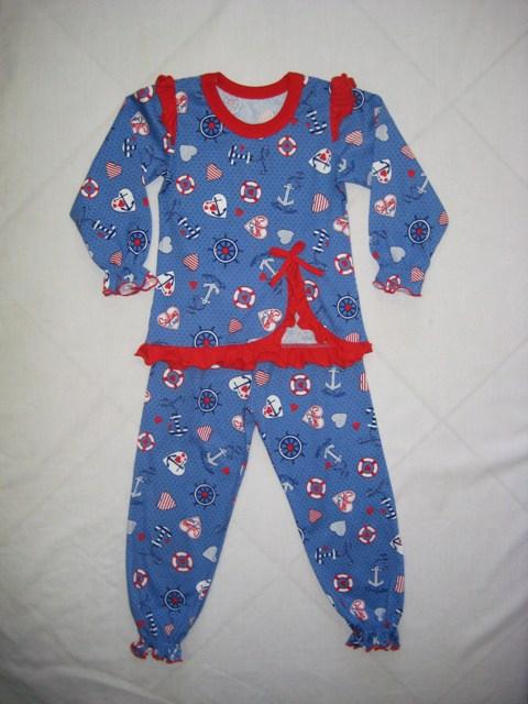 "Пижама детская ""Море"" (кулирка) от Grandstock"