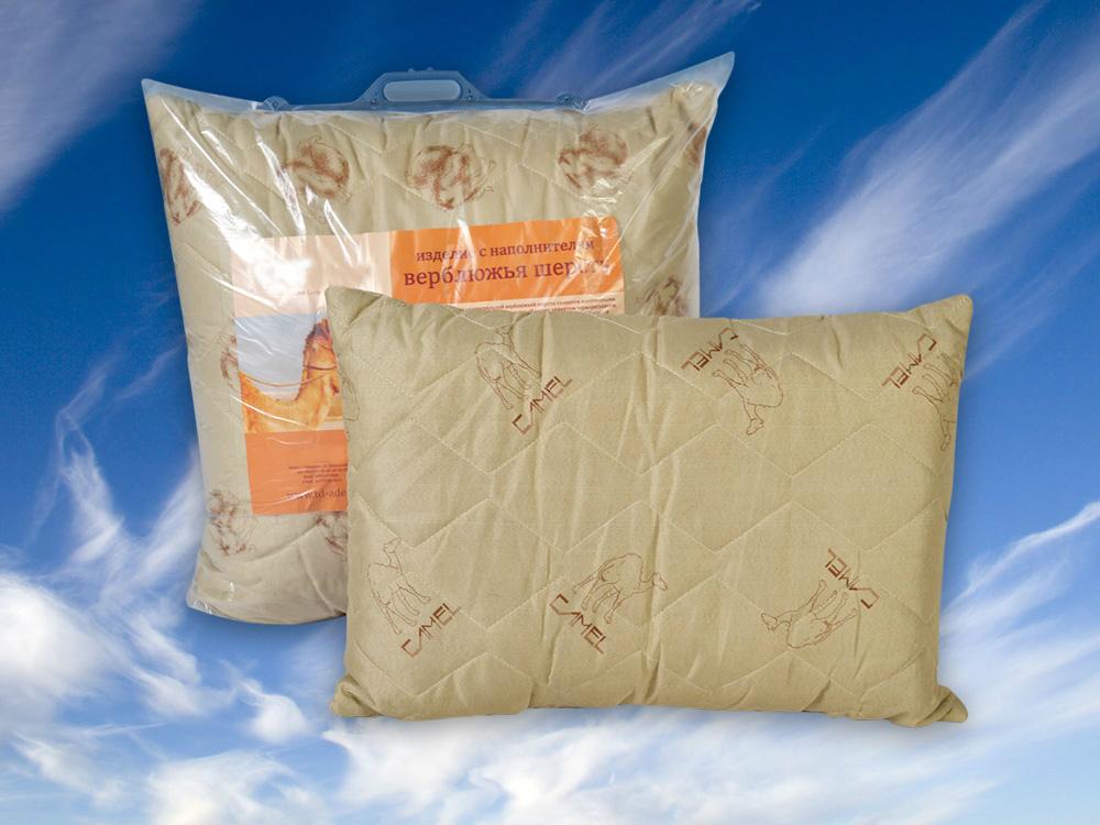 Подушка Верблюд (верблюжья шерсть, полиэстер) 50*70Бамбук<br>Устали от изнурительного выбора подходящих спальных принадлежностей? Не тратьте бесценное время впустую с подушкой Верблюд из верблюжьей шерсти и полиэстера!<br>Полиэстер - прочный синтетический материал, неприхотливый при эксплуатации и последующем уходе. Износостойкая ткань устойчива к загрязнениям, запахам, практически не мнется. Верблюжья шерсть - один из лучших наполнителей, сочетающий мягкость, теплоту, стабильность формы и объема, способность сохранять размер и принимать необходимую форму.<br>Подушка Верблюд - экологичный и высококачественный вариант для всех, кто регулярно заботится о собственном здоровье и комфорте.  Размер: 50*70<br><br>Принадлежность: Для дома<br>По назначению: Повседневные<br>Наполнитель: Верблюжья шерсть<br>Основной материал: Полиэстер<br>Страна - производитель ткани: Россия, г. Иваново<br>Вид товара: Одеяла и подушки<br>Материал: Полиэстер<br>Сезон: Круглогодичный<br>Длина: 49<br>Ширина: 30<br>Высота: 24<br>Размер RU: 50*70