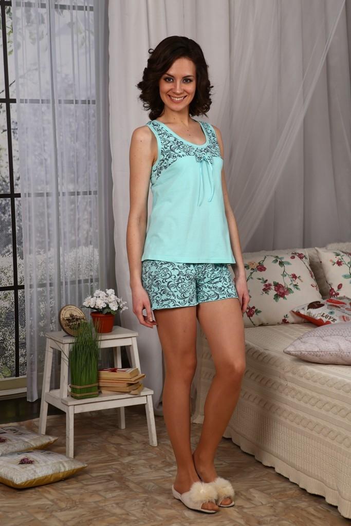 Пижама женская ЭнжиПижамы<br>Размер: 46<br><br>Высота: 7<br>Размер RU: 46