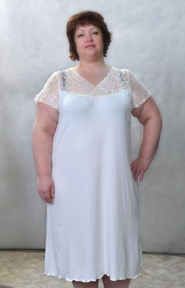 Сорочка женская ФлераСорочки и ночные рубашки<br>Размер: 50<br><br>Высота: 7<br>Размер RU: 50