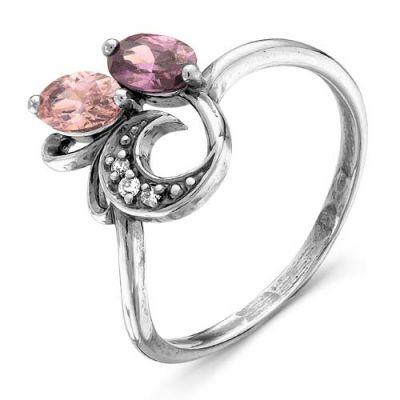 Кольцо серебряное 2387636Серебряные кольца<br>Вес  2,47<br>Вставка  фианиты<br>Покрытие  оксидирование Размер: 19.0<br><br>Высота: 3<br>Размер RU: 19.0