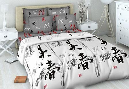 Постельное белье Символ благополучия (бязь) 1,5 спальныйПРЕМИУМ<br>Размер: 1,5 спальный<br><br>Принадлежность: Для дома<br>Плотность КПБ: 120 гр/кв.м<br>Категория КПБ: Японские мотивы<br>По назначению: Повседневные<br>Рисунок наволочек: Расположение элементов расцветки может не совпадать с рисунком на картинке<br>Основной материал: Бязь<br>Вид товара: КПБ<br>Материал: Бязь<br>Сезон: Круглогодичный<br>Плотность: 120 г/кв. м.<br>Состав: 100% хлопок<br>Комплектация КПБ: Пододеяльник, простыня, наволочка<br>Длина: 36<br>Ширина: 36<br>Высота: 8<br>Размер RU: 1,5 спальный