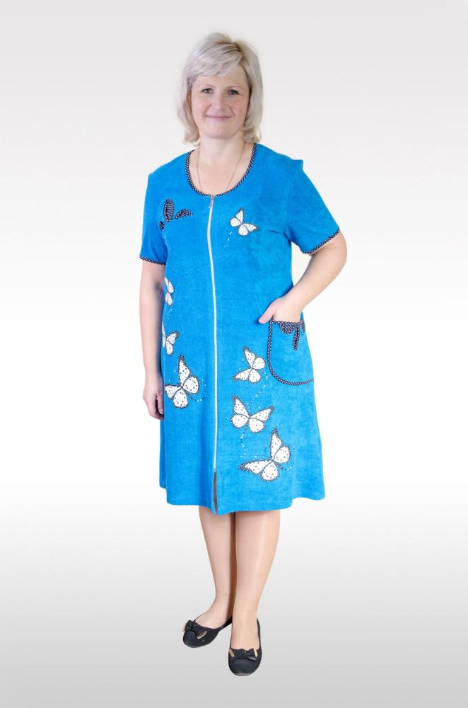 Халат женский ЭльзараЛегкие халаты<br>Размер: 52<br><br>Высота: 9<br>Размер RU: 52