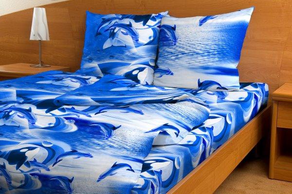 Постельное белье Дельфины и касатки синий GS (бязь) 2 спальныйЭКОНОМ<br>Если вы желаете на протяжении всего дня чувствовать себя бодрым и полным сил - спите на мягком и качественном постельном белье!   Комплект постельного белья Дельфины и касатки синий GS был создан из приятной телу бязи специально для того, чтобы каждую ночь вы спали с исключительным удовольствием, а наутро просыпались отдохнувшими и с ясной головой! А яркая расцветка с мотивом океана оригинально дополнит интерьер вашей комнаты.   Кроме того, постельное белье Дельфины и касатки GS сможет прослужить вам не один месяц, а гораздо больше благодаря одному из главных своих качеств - износостойкости!  <br>Внимание! При пошиве данного КПБ используется ткань шириной 150 см, поэтому в двуспальном комплекте простыня и пододеяльник являются сшивными, где к одному отрезку ткани пришивается другой отрезок (т.е. по центру изделия будет проходить шов). Это необходимо, чтобы получить нужные размеры для двуспального варианта. Размер: 2 спальный<br><br>Тип простыни: Со швом<br>Тип пододеяльника: Со швом<br>Производство: Производится про запас<br>Принадлежность: Для дома<br>Плотность КПБ: 105 гр/кв.м<br>Категория КПБ: Морское<br>По назначению: Повседневные<br>Рисунок наволочек: Расположение элементов расцветки может не совпадать с рисунком на картинке<br>Основной материал: Бязь<br>Страна - производитель ткани: Россия, г. Иваново<br>Вид товара: КПБ<br>Материал: Бязь<br>Сезон: Круглогодичный<br>Плотность: 105 г/кв. м.<br>Состав: 100% хлопок<br>Комплектация КПБ: Пододеяльник, простыня, наволочка<br>Длина: 37<br>Ширина: 26<br>Высота: 7<br>Размер RU: 2 спальный