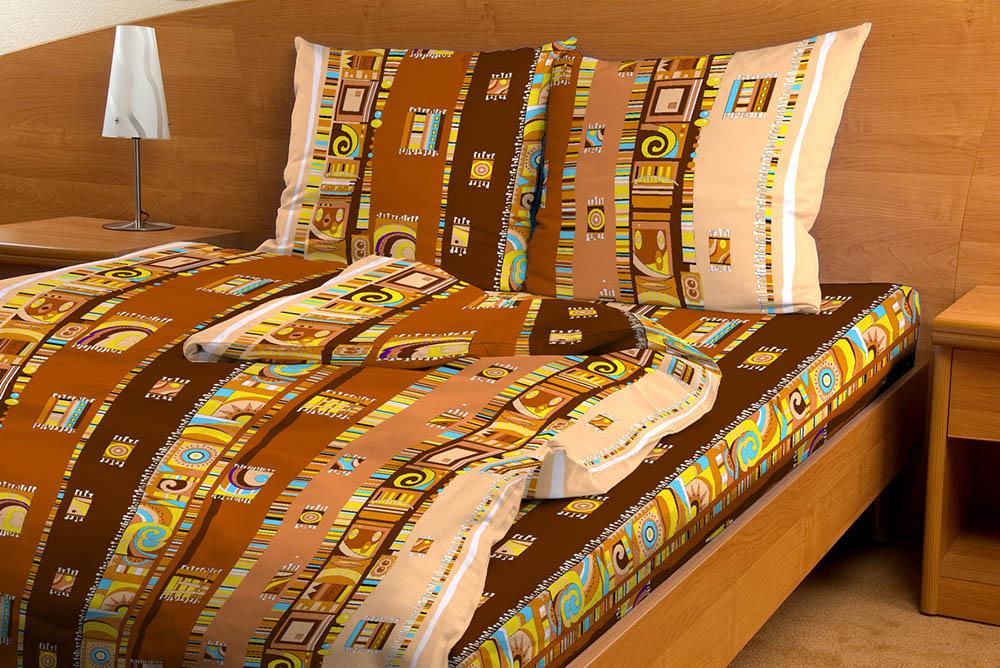 Постельное белье Мексика коричневый GS (бязь) 2 спальныйЭКОНОМ<br>Хотите добавить в свою комнату что-нибудь новое, яркое и оригинальное? Добавьте в нее комплект постельного белья Мексика GS!   В расцветке данного комплекта постельного белья использованы только самые яркие и насыщенные тона, поэтому вы точно не сможете взглянуть на него без улыбки, а ваши гости не смогут оставить его без комплимента в ваш адрес и даже небольшой частички зависти в своем сердце! А в составе постельного белья вы обнаружите натуральное хлопковое волокно, гипоаллергенное и абсолютно безвредное для вашей кожи.   В дополнение ко всему перечисленному, комплект постельного белья Мексика GS порадует вас своей низкой ценой! <br>Внимание! При пошиве данного КПБ используется ткань шириной 150 см, поэтому в двуспальном комплекте простыня и пододеяльник являются сшивными, где к одному отрезку ткани пришивается другой отрезок (т.е. по центру изделия будет проходить шов). Это необходимо, чтобы получить нужные размеры для двуспального варианта. Размер: 2 спальный<br><br>Тип простыни: Со швом<br>Тип пододеяльника: Со швом<br>Производство: Производится про запас<br>Принадлежность: Для дома<br>Плотность КПБ: 105 гр/кв.м<br>Категория КПБ: Геометрия и абстракция<br>По назначению: Повседневные<br>Основной материал: Бязь<br>Страна - производитель ткани: Россия, г. Иваново<br>Вид товара: КПБ<br>Материал: Бязь<br>Сезон: Круглогодичный<br>Плотность: 105 г/кв. м.<br>Состав: 100% хлопок<br>Комплектация КПБ: Пододеяльник, простыня, наволочка<br>Длина: 37<br>Ширина: 26<br>Высота: 7<br>Размер RU: 2 спальный