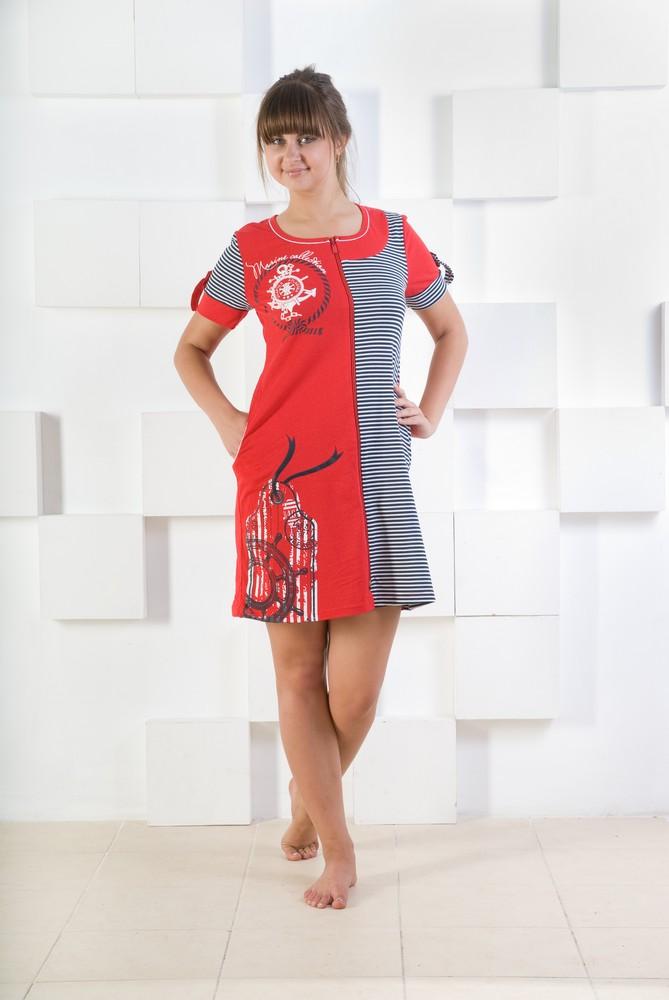 Халат женский СанниЛегкие халаты<br>Размер: 50<br><br>Высота: 9<br>Размер RU: 50