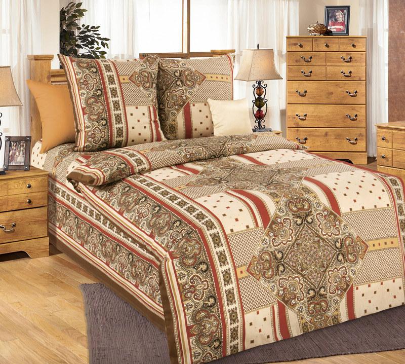 """Постельное белье """"Византия"""" (бязь) 1,5 спальный от Grandstock"""
