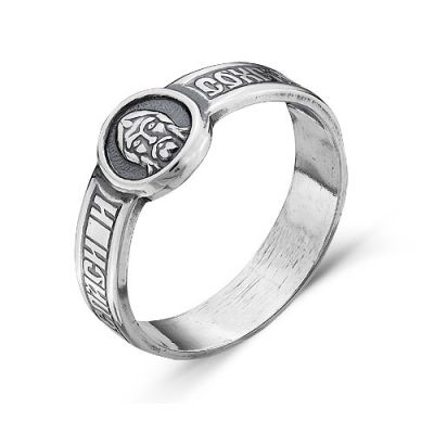 Кольцо серебряное 2306888Серебряные кольца<br>Артикул  2306888<br>Вес  3,63<br>Покрытие  оксидирование<br>Размерный ряд  15,5-21,5<br>Описание  Спаси и сохрани Размер: 20<br><br>Принадлежность: Драгоценности<br>Основной материал: Серебро<br>Страна - производитель ткани: Россия, г. Приволжск<br>Вид товара: Серебро<br>Материал: Серебро<br>Вес: 3,63<br>Покрытие: Оксидирование<br>Проба: 925<br>Вставка: Без вставки<br>Габариты, мм (Длина*Ширина*Высота): 24*9,5<br>Длина: 5<br>Ширина: 5<br>Высота: 3<br>Размер RU: 20