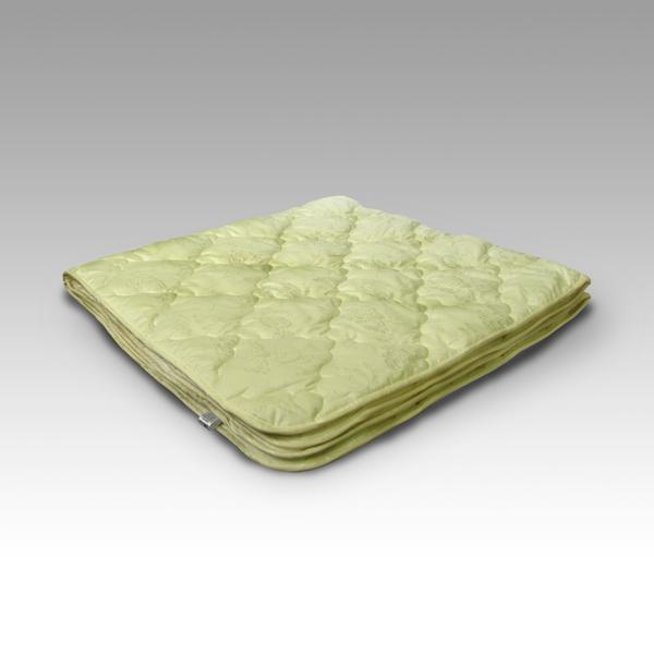 """Одеяло зимнее """"Пух горной козы"""" (тик) 1,5 спальный (140*205)"""