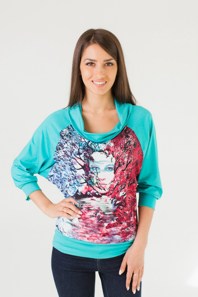 Блузка женская ОфелияБлузки<br>Размер: 50<br><br>Высота: 7<br>Размер RU: 50