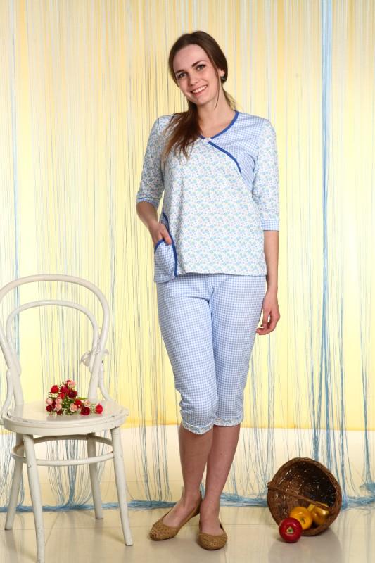 Пижама женская МаргаретПижамы<br>Размер: 44<br><br>Принадлежность: Женская одежда<br>Основной материал: Футер<br>Вид товара: Одежда<br>Материал: Футер<br>Длина: 18<br>Ширина: 12<br>Высота: 7<br>Размер RU: 44