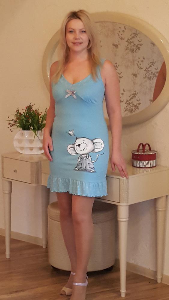 Ночная сорочка АргентинаСорочки и ночные рубашки<br>Размер: 42<br><br>Высота: 7<br>Размер RU: 42