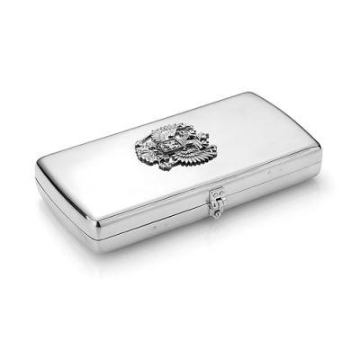 """Портсигар серебряный """"930707"""""""