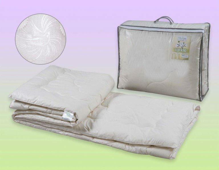 """Одеяло облегченное """"Озеро"""" (хлопок, перкаль) 2 спальный (172*205) от Grandstock"""