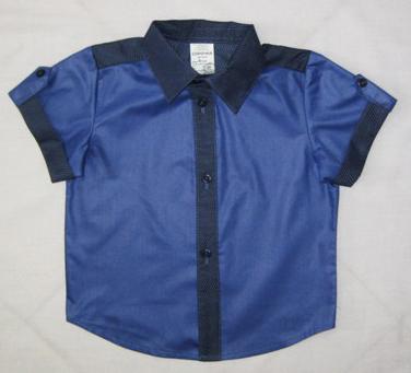 Сорочка детская КомбиРубашки<br>Если мужчина предпочитает рубашки для повседневной носки, то у него определенно хороший вкус. Но его нужно воспитывать в мужчине с самого детства.   И вы можете начать воспитывать у своего сына хороший вкус в одежде и любовь к рубашкам с нашей новой моделью Комби. Эта детская сорочка имеет приятную текстуру, ведь она сшита из легкой и мягкой трикотажной ткани, в составе которой находится 65% полиэстера и 35% натурального хлопкового волокна.   Сорочка имеет насыщенную цветовую гамму и отлично подходит для повседневной носки; она хорошо сочетается с джинсами и брюками светлых и темных оттенков. Размер: 36<br><br>Принадлежность: Детская одежда<br>Возраст: Дошкольник (1-6 лет)<br>Пол: Мальчик<br>Основной материал: Трикотаж<br>Страна - производитель ткани: Россия, г. Иваново<br>Вид товара: Детская одежда<br>Материал: Трикотаж<br>Состав: 65% полиэстер, 35% хлопок<br>Длина: 18<br>Ширина: 12<br>Высота: 2<br>Размер RU: 36