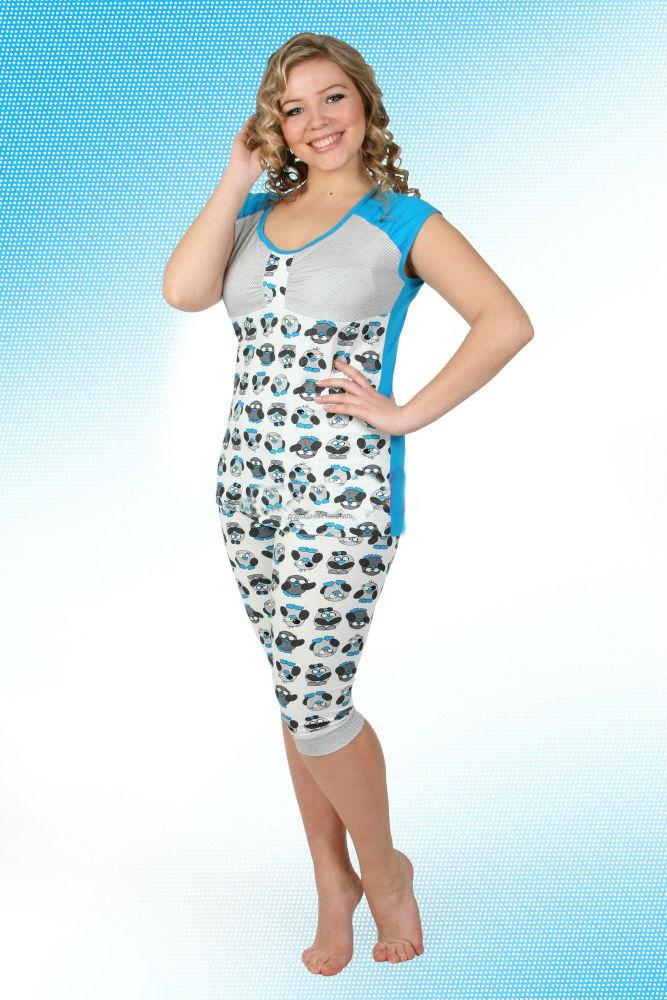 Пижама женская ПинПижамы<br>Размер: 48<br><br>Высота: 7<br>Размер RU: 48