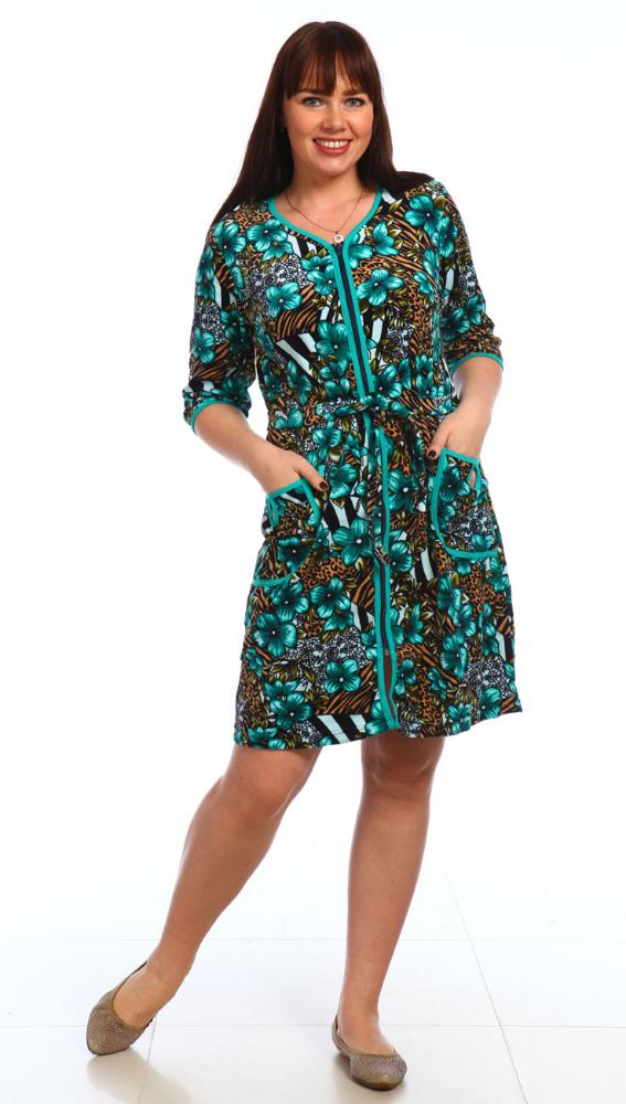 Халат женский СоммерТеплые халаты<br>Размер: 58<br><br>Высота: 11<br>Размер RU: 58
