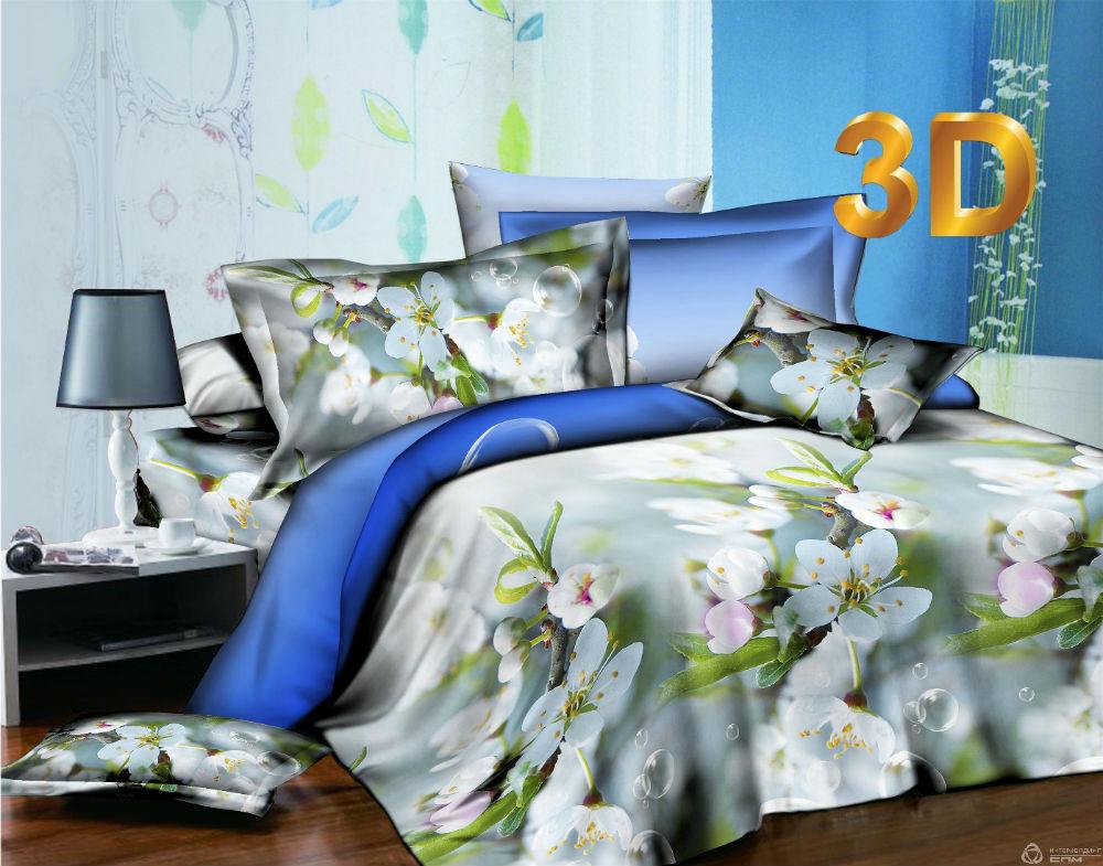 Постельное белье Май 3D (сатин) 2 спальныйСатин 3D и 5D<br>Размер: 2 спальный<br><br>Производство: Производится про запас<br>Принадлежность: Для дома<br>Стикер: Лучшая цена<br>Плотность КПБ: 130 гр/кв.м<br>Категория КПБ: Цветы и растения<br>По назначению: Повседневные<br>Рисунок наволочек: Расположение элементов расцветки может не совпадать с рисунком на картинке<br>Основной материал: Сатин<br>Вид товара: КПБ<br>Материал: Сатин<br>Сезон: Круглогодичный<br>Плотность: 130 г/кв. м.<br>Состав: 100% хлопок<br>Комплектация КПБ: Пододеяльник, простыня, наволочка<br>Длина: 37<br>Ширина: 28<br>Высота: 9<br>Размер RU: 2 спальный