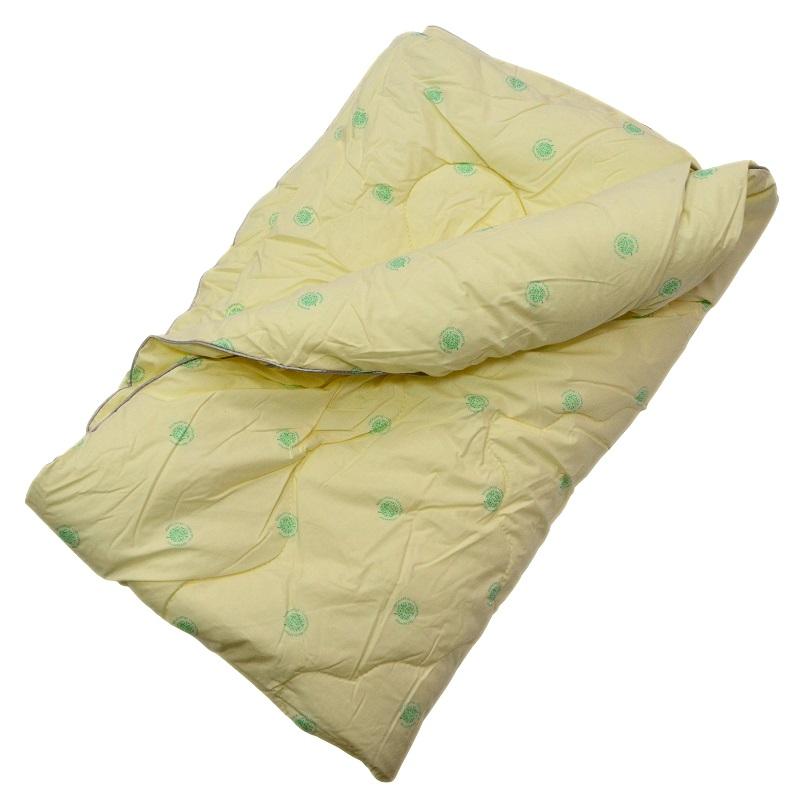 """Одеяло зимнее """"Спираль"""" (эвкалипт, тик) 1,5 спальный (140*205)"""