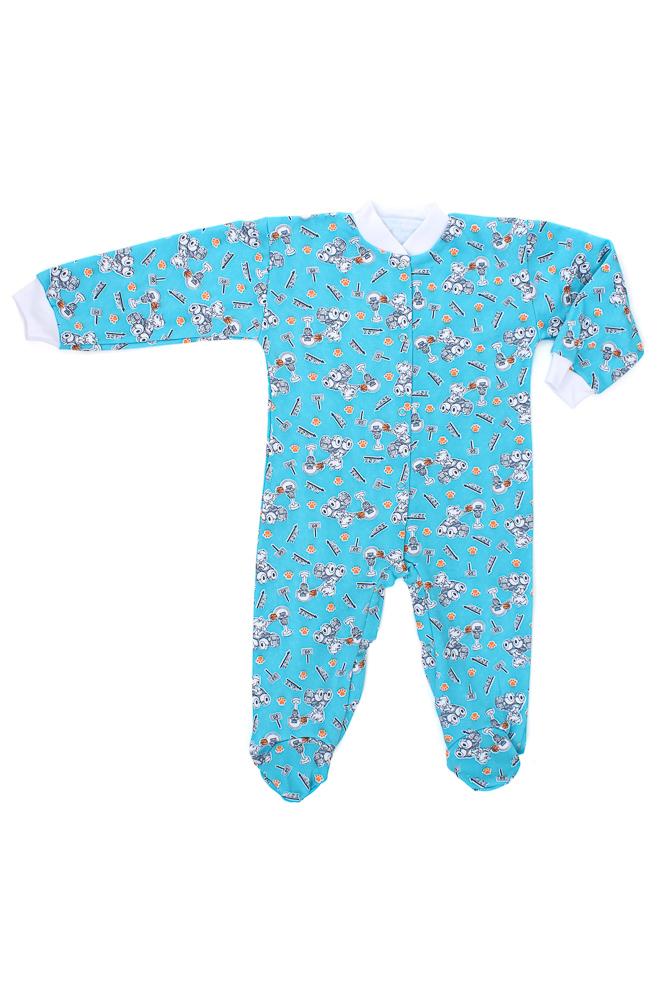 Комбинезон ЧебурашкаКомбинезоны и песочники<br>Определиться с расцветкой Вы можете здесь<br>Какому же малышу будет неудобно в мягком комбинезоне, и какая же мама сочтет его неудобной одеждой для ребенка?! Ведь комбинезон - одна из самых подходящих форм одежды для ребенка, особенно новорожденного. <br>Детский комбинезон Чебурашка - это изделие из натуральной хлопковой ткани, гипоаллергенной и очень мягкой, неспособной навредить нежной коже малыша. <br>Также у детского комбинезона Чебурашка имеются закрытые ножки, которые заменяют носочки и избавляют маму малыша от необходимости постоянно поправлять их на ребенке. Размер: 24<br><br>Производство: Закупается про запас<br>Принадлежность: Детская одежда<br>Возраст: Младенец (0-12 месяцев)<br>Пол: Унисекс<br>Основной материал: Футер<br>Страна - производитель ткани: Россия, г. Иваново<br>Вид товара: Детская одежда<br>Материал: Футер<br>Длина: 18<br>Ширина: 12<br>Высота: 2<br>Размер RU: 24
