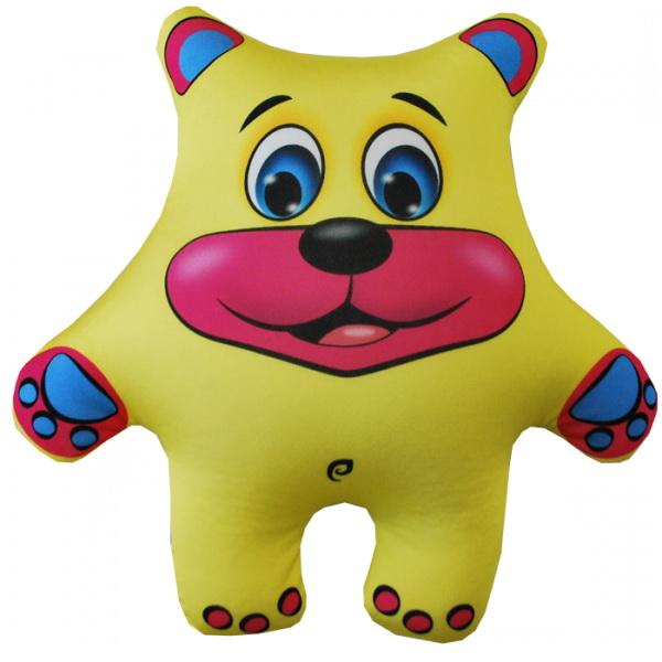 "Антистрессовая игрушка ""Медведь желтый"" (27х26)"