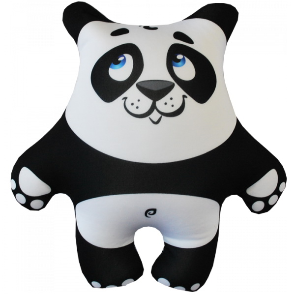 """Антистрессовая игрушка """"Панда белая"""" (27х26)"""