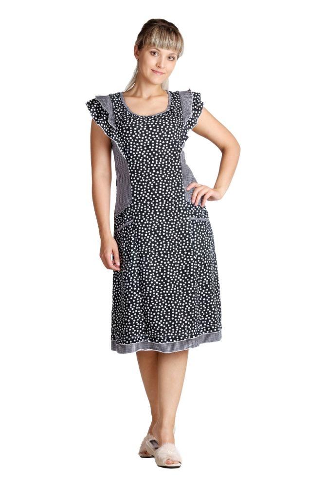 Платье женское АрианаПлатья<br>Настоящая красота заключается в простоте. Но если вам трудно этому поверить, то позвольте представить вашему вниманию женское платье Ариана - и вы сразу измените свое мнение!<br>Это элегантное платье выполнено из кулирки, мягкого хлопкового материала, который позволяет коже дышать и не вызывает дискомфорт. Оно также имеет очень изящный фасон с приталенным силуэтом и расклешенной юбкой. А двухслойные рукава-крылья придают модели очаровательности.<br>Женское платье Ариана станет вашим верным спутником, куда бы вы ни захотели его надеть: на прогулку по городу, в кино и даже на свидание. <br>  Размер: 54<br><br>Длина платья: Миди<br>Принадлежность: Женская одежда<br>Основной материал: Кулирка<br>Страна - производитель ткани: Россия, г. Иваново<br>Вид товара: Одежда<br>Материал: Кулирка<br>Сезон: Лето<br>Длина по спинке : 50-64 размер - 104 см<br>Состав: 100% хлопок<br>Длина рукава: Короткий<br>Длина: 18<br>Ширина: 12<br>Высота: 7<br>Размер RU: 54
