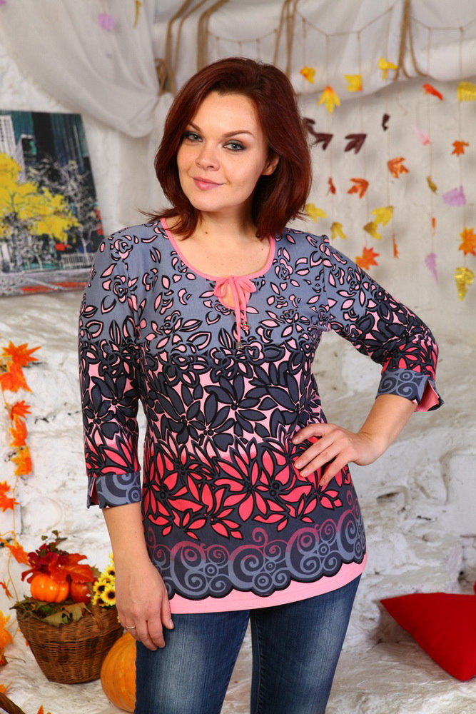 Блузка женская МалликаБлузки<br>Размер: 48<br><br>Высота: 7<br>Размер RU: 48
