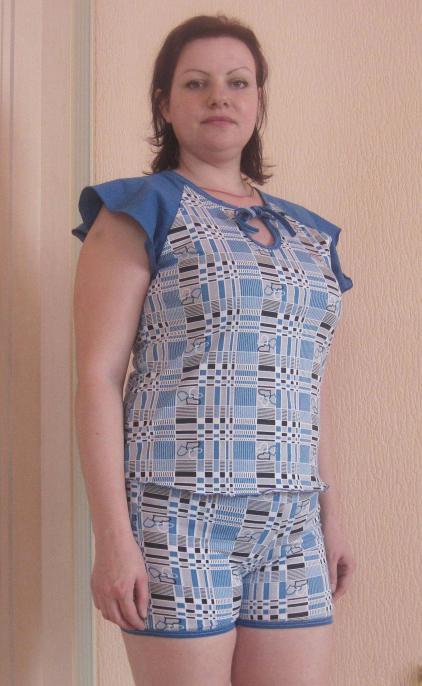 Пижама женская ЗинаидаПижамы<br>Размер: 42<br><br>Принадлежность: Женская одежда<br>Основной материал: Кулирка<br>Страна - производитель ткани: Россия, г. Иваново<br>Вид товара: Одежда<br>Материал: Кулирка<br>Тип застежки: Без застежки<br>Длина рукава: Короткий<br>Длина: 18<br>Ширина: 12<br>Высота: 7<br>Размер RU: 42