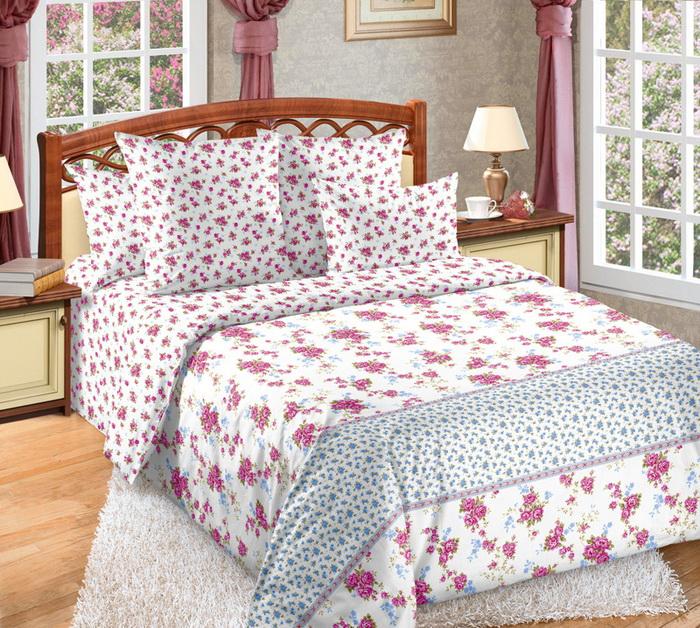 Постельное белье Мирабель (бязь) 2 спальныйПРЕМИУМ<br>Размер: 2 спальный<br><br>Высота: 8<br>Размер RU: 2 спальный