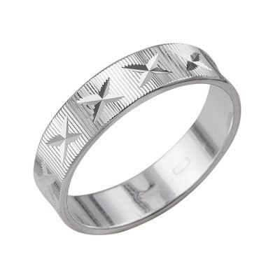 Кольцо серебряное 2301442б3Серебряные кольца<br>Артикул  2301442б3<br>Вес  2,56<br>Покрытие  без покрытия<br>Размерный ряд  16,5; 17,0; 17,5; 18,0; 18,5; 19,0; 19,5; Размер: 17.5<br><br>Принадлежность: Драгоценности<br>Основной материал: Серебро<br>Страна - производитель ткани: Россия, г. Приволжск<br>Вид товара: Серебро<br>Материал: Серебро<br>Вес: 2,56<br>Покрытие: Без покрытия<br>Проба: 925<br>Вставка: Без вставки<br>Габариты, мм (Длина*Ширина*Высота): 20,9*5<br>Длина: 5<br>Ширина: 5<br>Высота: 3<br>Размер RU: 17.5