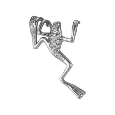 Подвеска серебряная 5382739Серебряные изделия<br>Артикул  5382739<br>Вес  1,97<br>Вставка  Фианит<br>Покрытие  оксидирование<br><br>Высота: 3