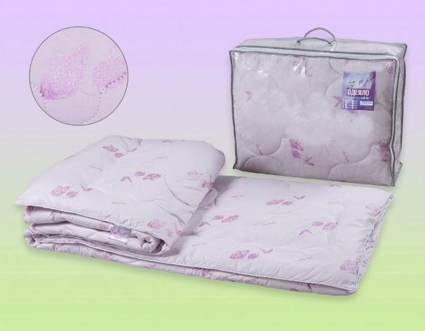 """Одеяло облегченное """"Италия"""" (шелк, перкаль) 1,5 спальный (140*205)"""