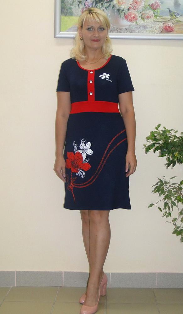 Платье женское КриссиПлатья<br>Размер: 54<br><br>Принадлежность: Женская одежда<br>Основной материал: Вискоза<br>Страна - производитель ткани: Россия, г. Иваново<br>Вид товара: Одежда<br>Материал: Вискоза<br>Длина рукава: Короткий<br>Длина: 18<br>Ширина: 12<br>Высота: 7<br>Размер RU: 54