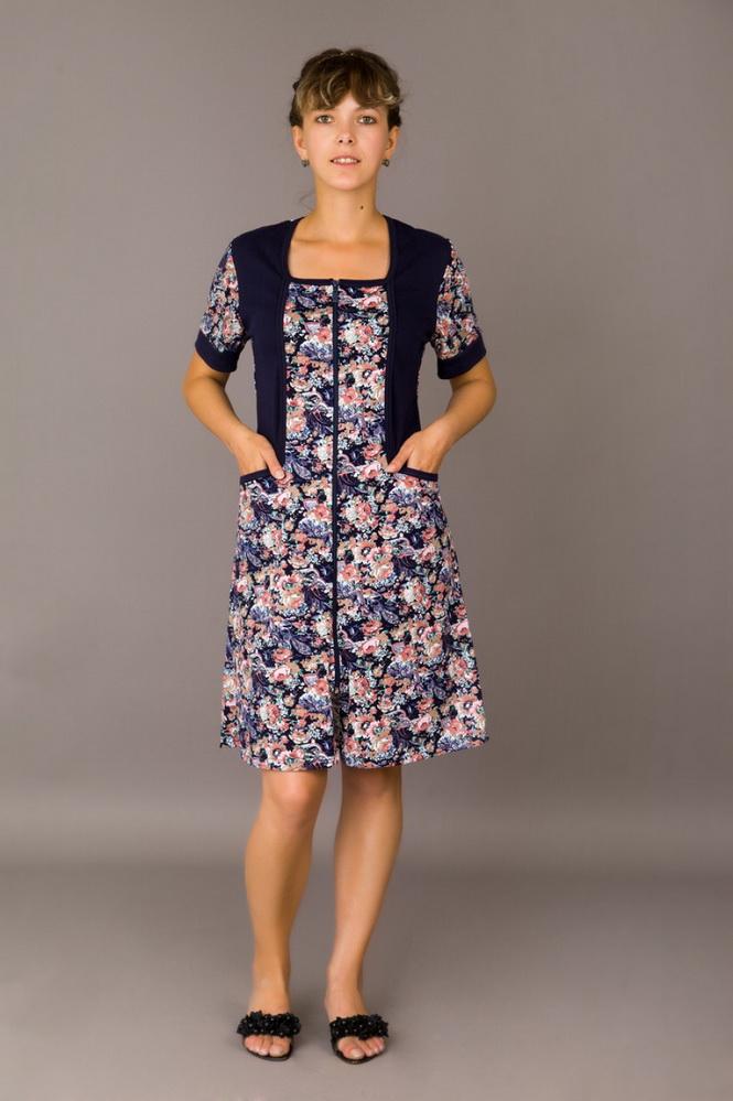 Халат женский МорозкоЛегкие халаты<br>Размер: 56<br><br>Принадлежность: Женская одежда<br>Основной материал: Кулирка<br>Вид товара: Одежда<br>Материал: Кулирка<br>Состав: 100% хлопок<br>Длина рукава: Короткий<br>Длина: 19<br>Ширина: 17<br>Высота: 9<br>Размер RU: 56