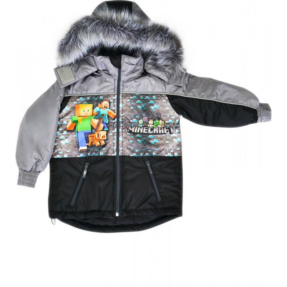 Куртка детская Майнкрафт