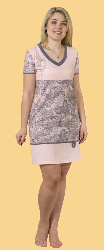 Туника женская КайлаТуники<br>Размер: 48<br><br>Принадлежность: Женская одежда<br>Основной материал: Кулирка<br>Вид товара: Одежда<br>Материал: Кулирка<br>Длина: 18<br>Ширина: 12<br>Высота: 7<br>Размер RU: 48